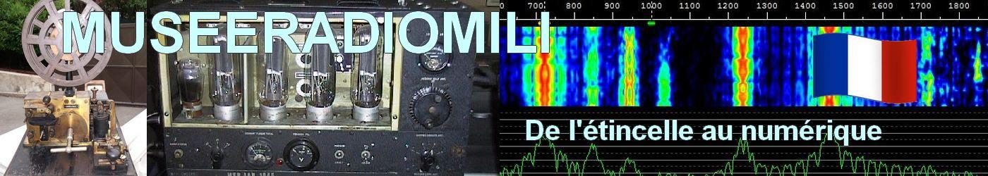 MUSEERADIOMILI le musée des transmissions radio militaire et civils